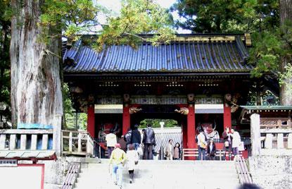 日光世界遺産群の某社寺(Nikko)