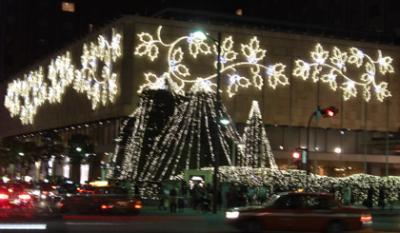 帝国ホテル(IMPERIAL HOTEL TOKYO)のクリスマスイルミネーション