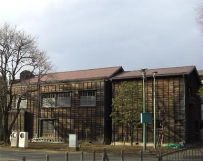 江戸東京たてもの園(古い館を移築)超話題の施設・レトロです