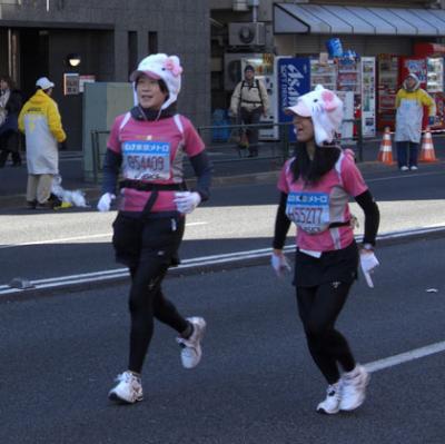 東京マラソン2008画像検索G54409&H55277