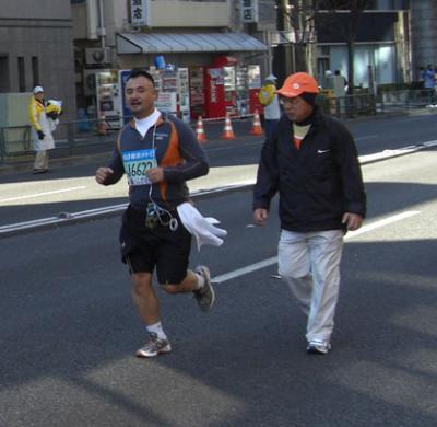 Tokyo Marathon 2008 ゼッケン検索 J6622 データー無料で差し上げます