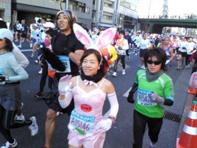 東京マラソン2008画像002無料で差し上げます