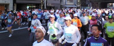 東京マラソン2008画像