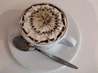 幾何学模様!Caffe Art