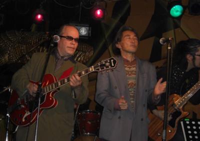 布谷文夫&ジェームス藤木のライブに行ってきました