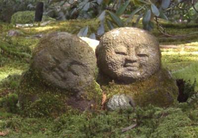 京都(Kyoto)大原三千院の「わらべ地蔵」が可愛い