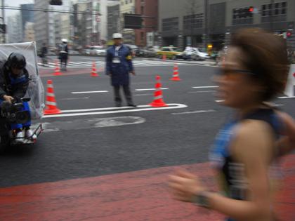 第30回東京国際女子マラソン(最終回)2位の加納由理選手(セカンドウィンドAC)