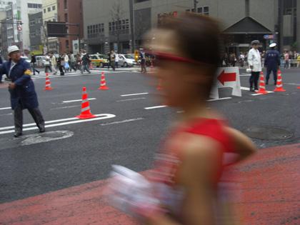 第30回東京国際女子マラソン(最終回)第4位渋井陽子(三井住友海上所属)