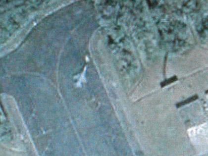 ネットで色々見てたら、某国の軍事基地らしい画像をキャッチ!