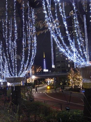 今年の流行?東京ミッドタウンのイルミネーション!その2