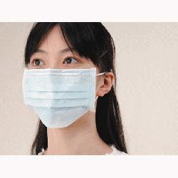 新型インフルエンザ対策用サージカルマスク
