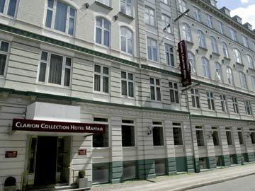 ・デンマーク王国コペンハーゲン・CLARION COLLECTION MAYFAIR HOTEL・ホテル
