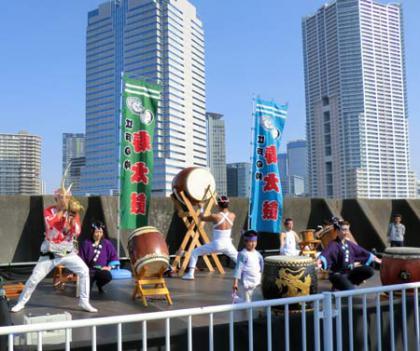 寿太鼓の名演技画像