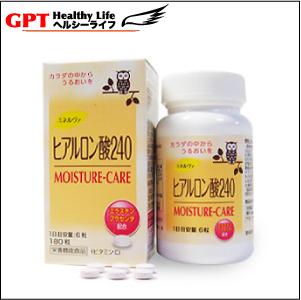 ミネルヴァ・ヒアルロン酸240(MOISTURE-CARE)栄養機能食品 [MN-hyal240]