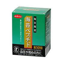 老舗白子のり・海苔ペプチド・特定保健用食品です。